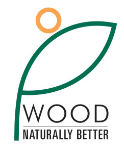 Wood, Naturally better logo